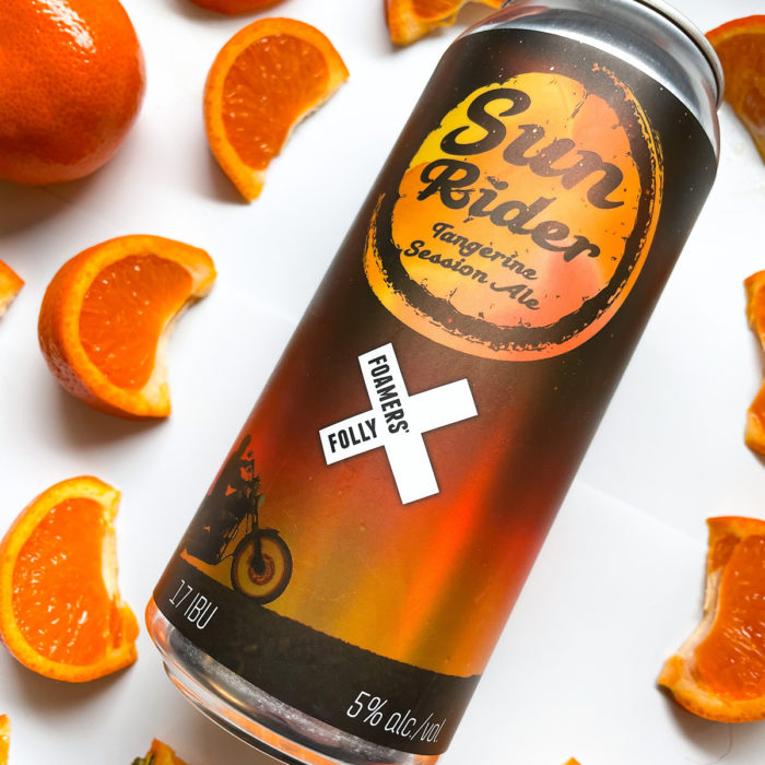 Sun Rider Tangerine Session Ale – Here for the Summer!