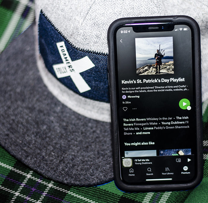 St. Patrick's Day Playlist Now Available