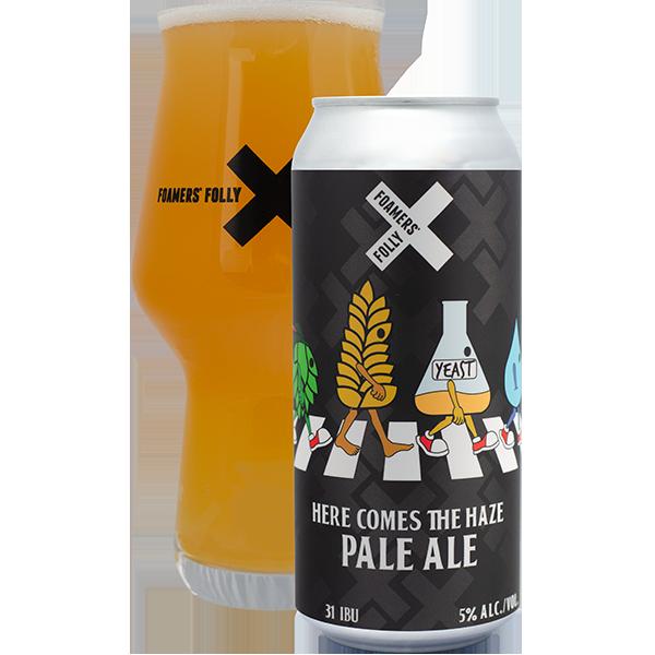 HERE COMES THE HAZE – Hazy Pale Ale