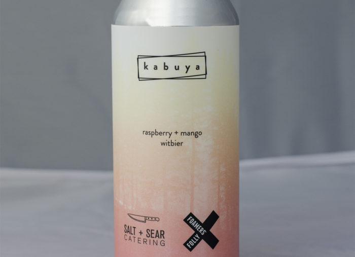 Kabuya Witbier with Raspberry + Mango