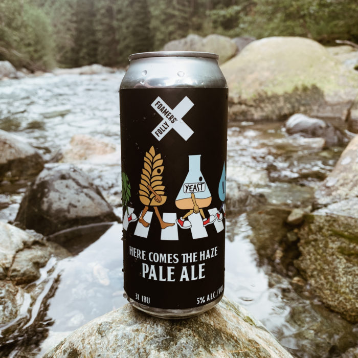 NEW RELEASE: Here Comes the Haze Pale Ale